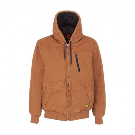 Blouson pro chaud Diadora Marron JACKET PADDED CANVAS
