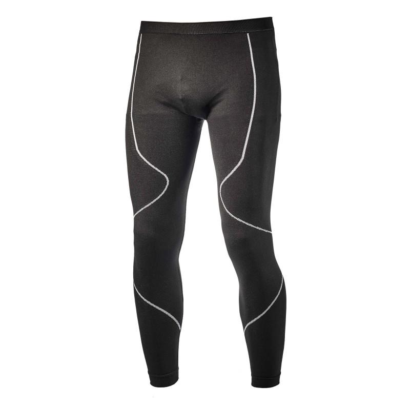 Pantalon sous-couche sans couture Diadora PANT SOUL Noir