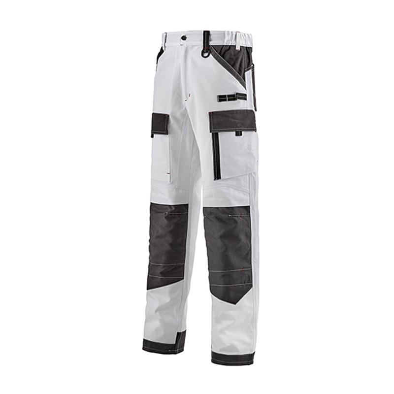 Pantalon de travail blanc lafont Work Attitude 250