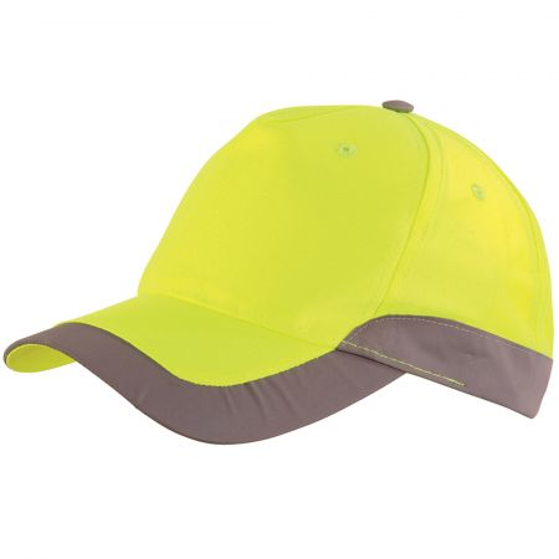 Casquette haute visibilité jaune fluo Lafont ROMER