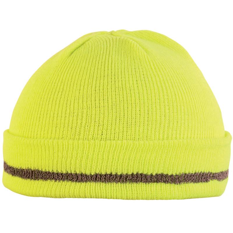 Bonnet haute visibilité Lafont jaune hivi CORNU