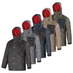 Veste de travail anti-pluie Lafont Work Attitude Updated LEAF - vêtement de pluie EN 343