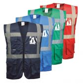 Gilet de sécurité multipoches Portwest F476 IONA Executive