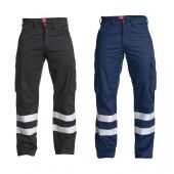 Pantalon de travail Engel STANDARD avec bandes réfléchissantes - vue des coloris disponibles