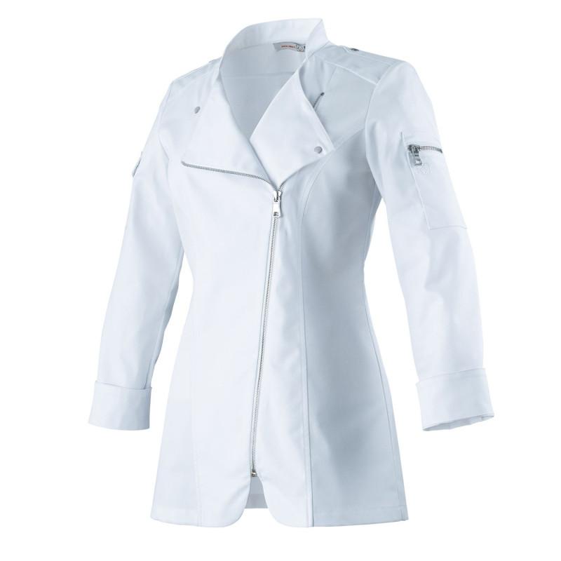 Veste de cuisine femme ajustée, féminine et élégante Robur ATTITUDES