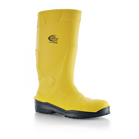 Bottes de sécurité jaune S4 en PU - Polyuréthane - Shoes For Crews SENTINEL