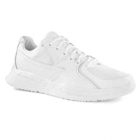 Baskets de travail blanches antidérapantes homme OB SRC Shoes For Crews CONDOR