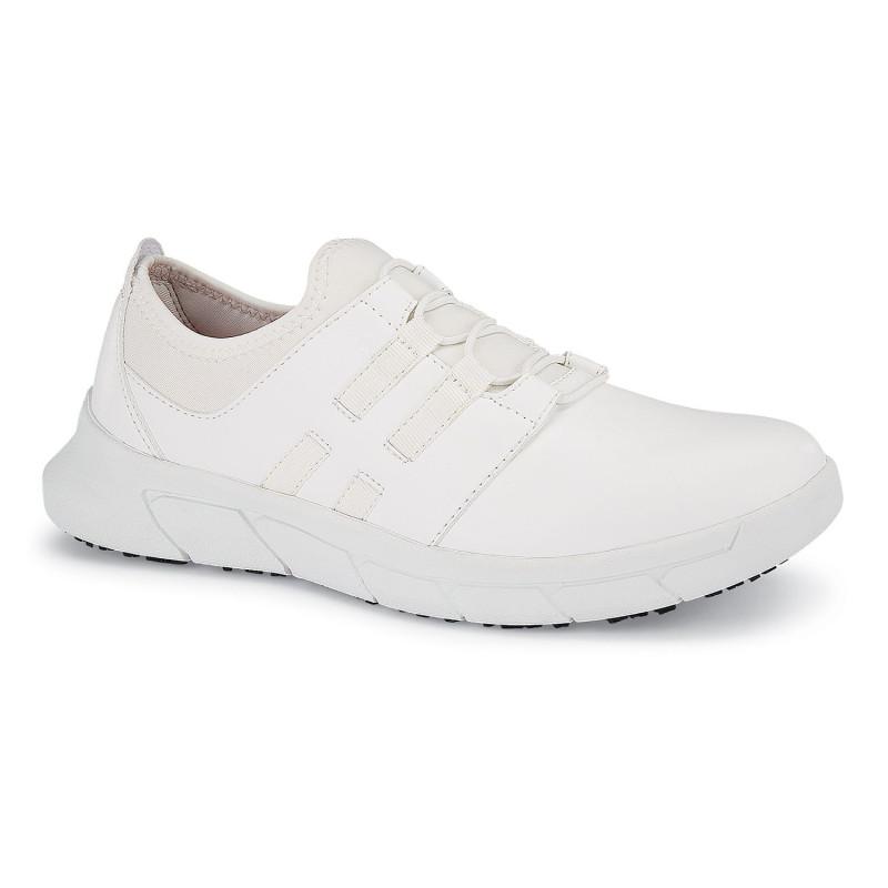 Chaussures de travail blanches pour femme ultra légères et antidérapantes Shoes For Crews KARINA