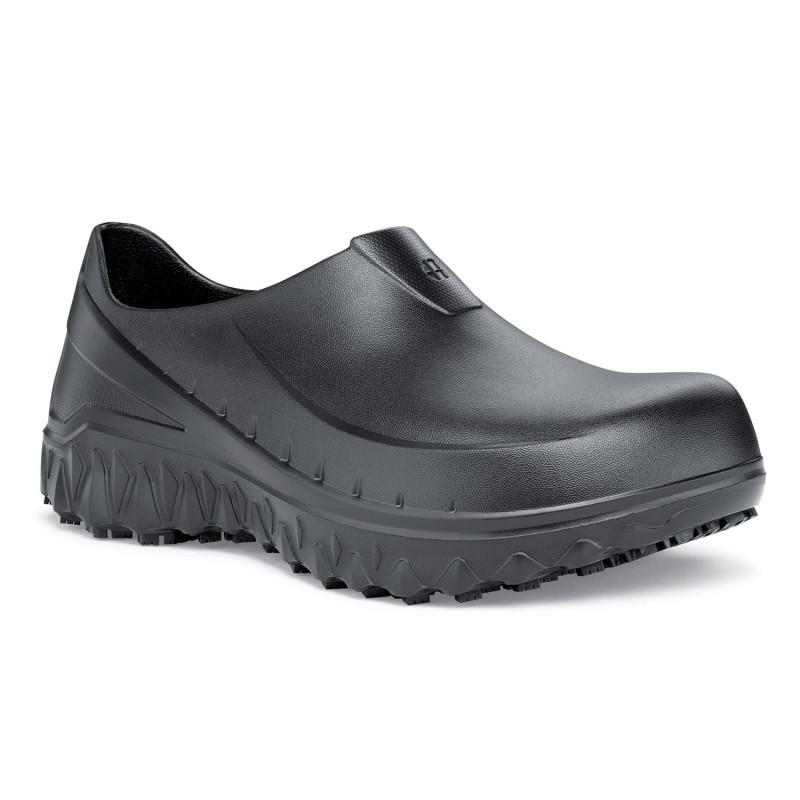 Sabot de travail antidérapants noir mixte Shoes For Crews BLOODSTONE