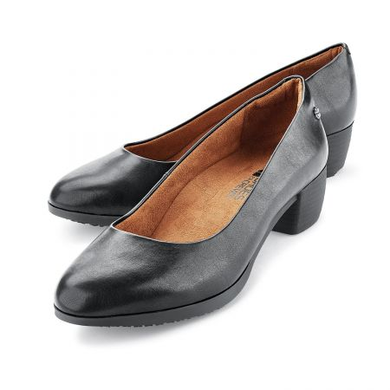 Chaussures professionnelles en cuir antidérapantes pour femme Shoes For Crews WILLA