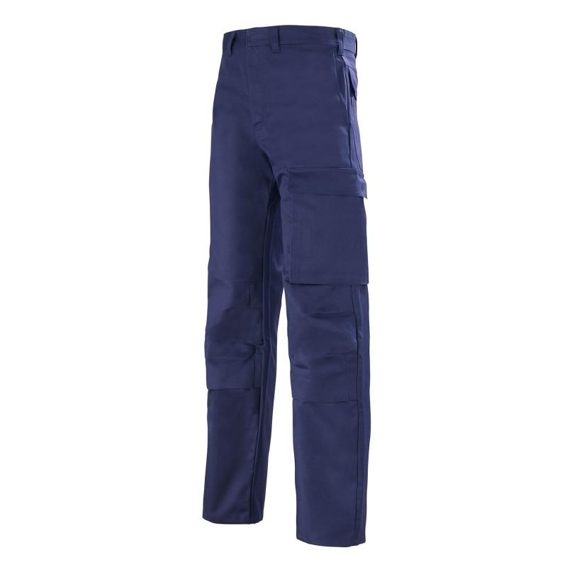 pantalon anti feu Proban bleu marine Lafont VULCANO