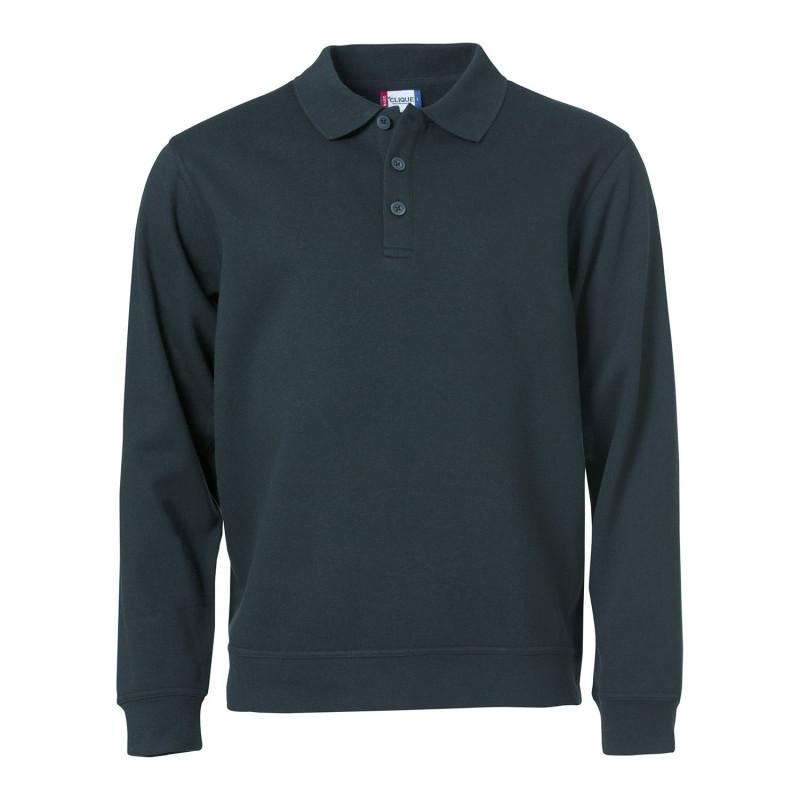 Sweatshirt professionnel type polo pas cher Clique