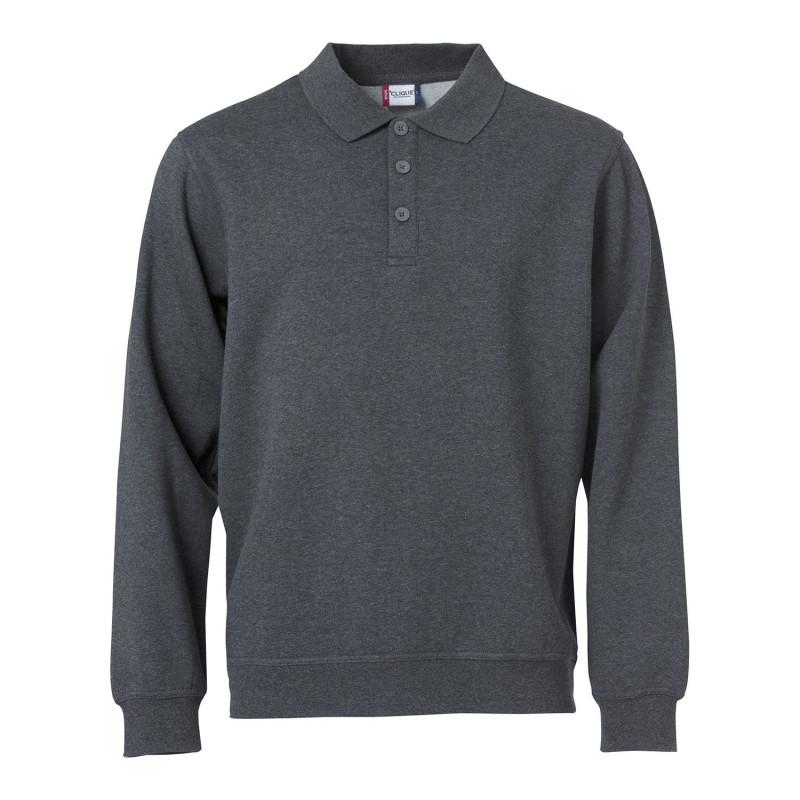 Sweatshirt de travail avec col confortable et pas cher Clique