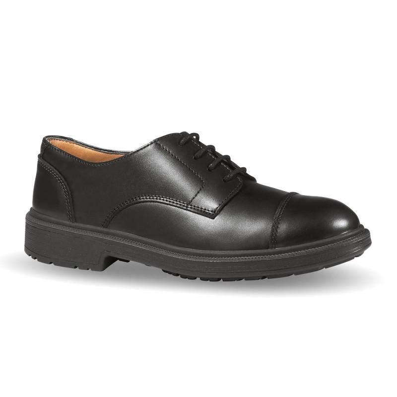 Chaussures de sécurité encadrement et managers en cuir pleine fleur U-POWER S3 SRC LONDON