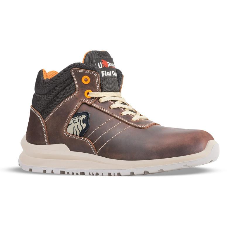 Chaussures de sécurité spéciale toiture couvreur, zingueur, charpentier uPower KEN