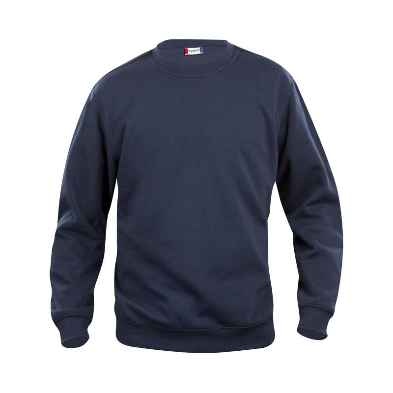 Sweatshirt pro pas cher bleu marine