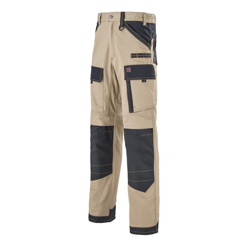 Pantalon de travail beige lafont Work Attitude 250