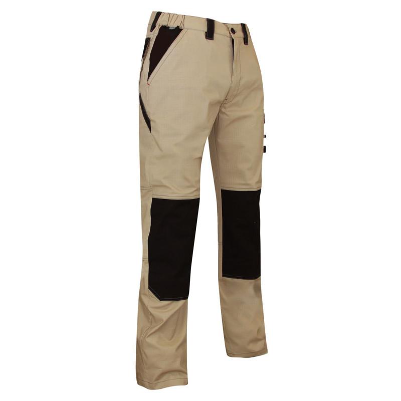 Pantalon de travail été pas cher beige LMA PLUTON
