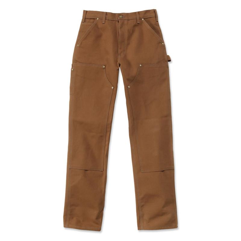 Pantalon de charpentier marron Carhartt B01