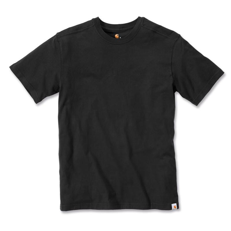 Tee Shirt de travail noir Carhartt MADDOCK