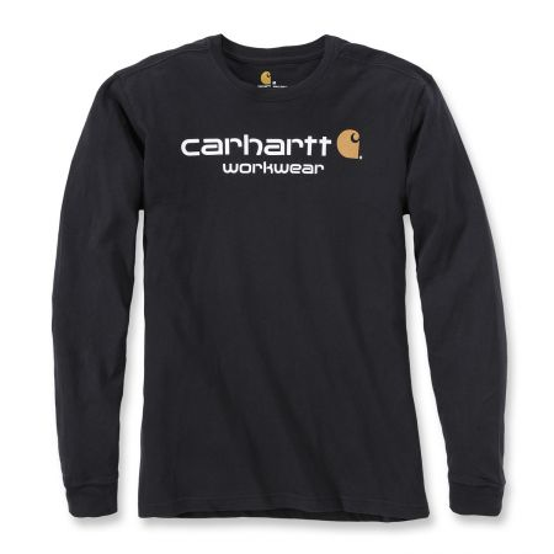 Tshirt professionnel manches longues Carhartt noir