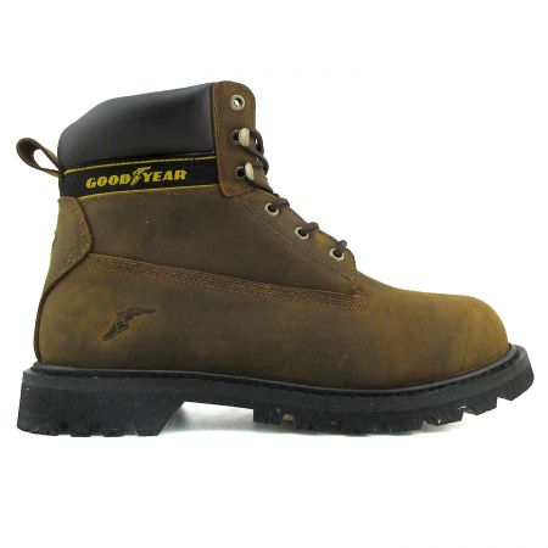 Chaussures de sécurité Goodyear marron