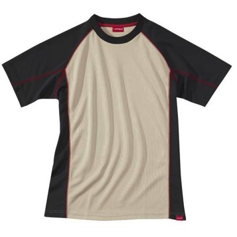 T shirt professionnel respirant beige Lafont CDRYATT
