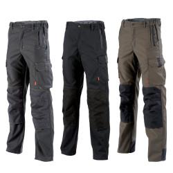 Pantalon professionnel Lafont avec poches genoux