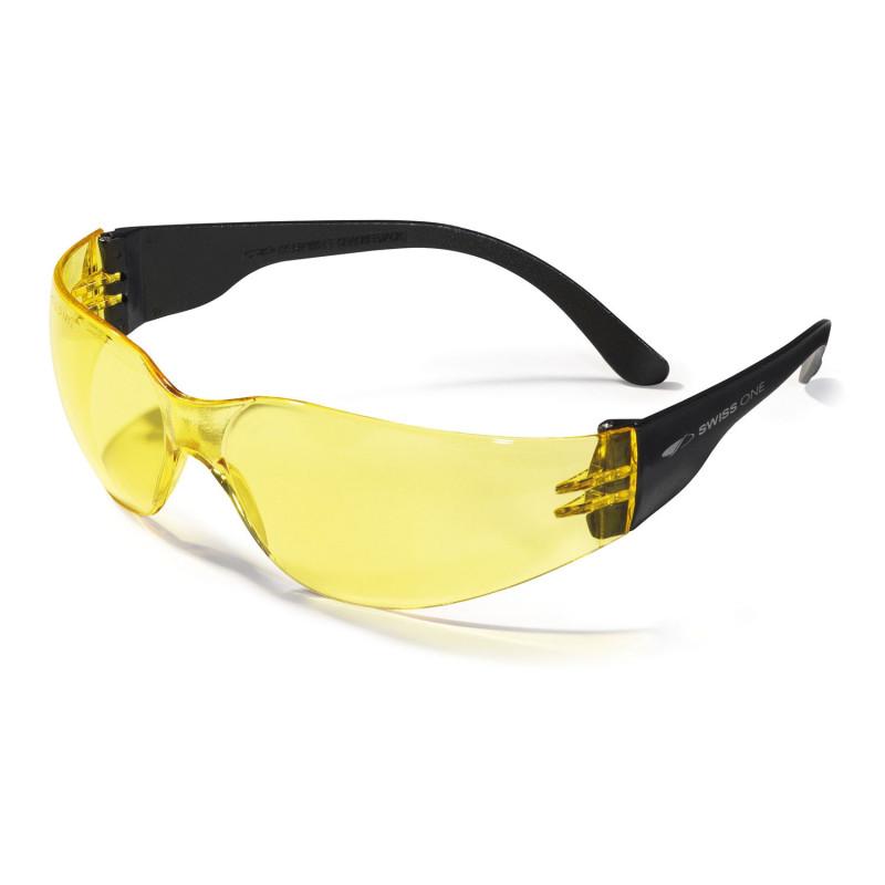 4f194851cd1049 ... travail Lunettes de sécurité CRACKERJACK. Swiss One Lunette protection  jaune Swiss One CRACKERJACK