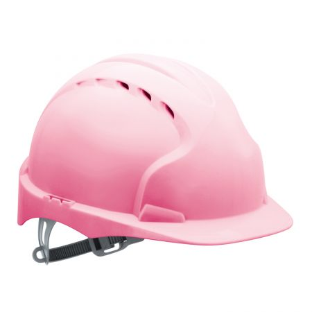 Casque chantier rose JSP EVO 2