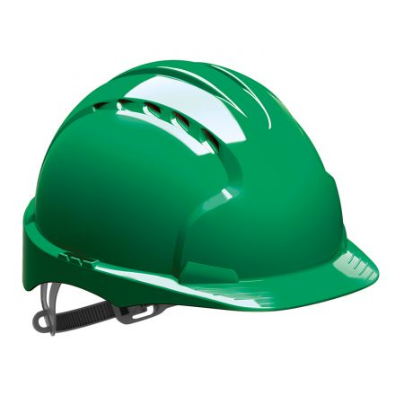Casque protection vert JSP EVO 2