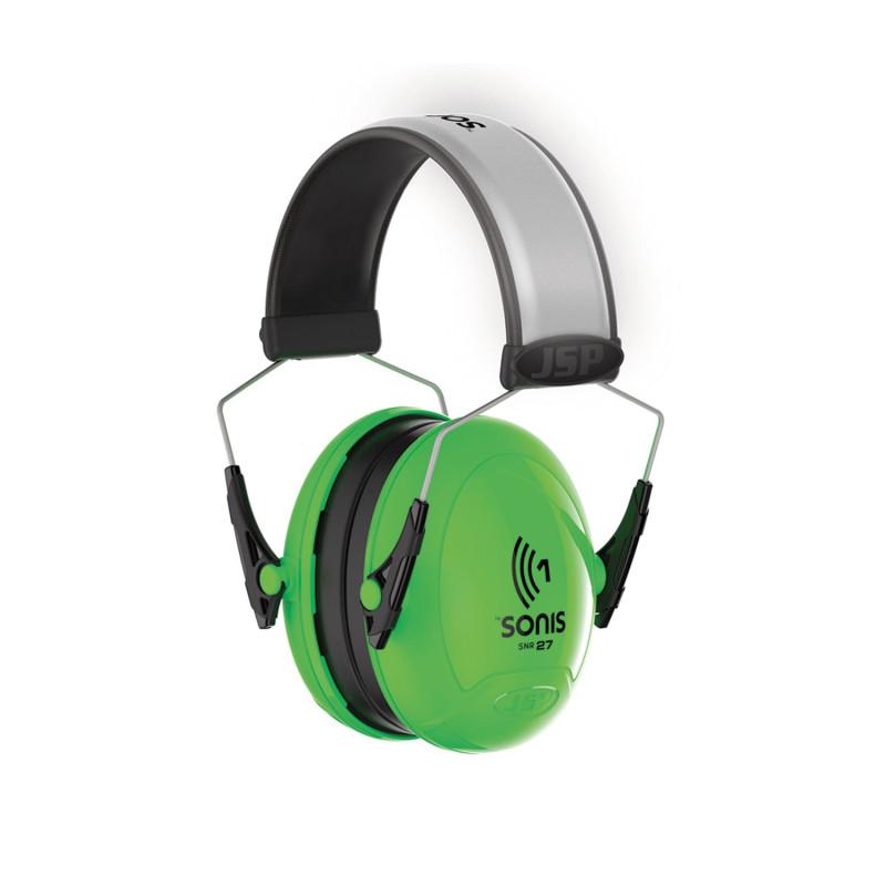 Casque auditif haute visibilité SONIS 1 JSP SNR 27 dB