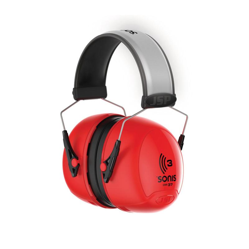 Casque de protection contre le bruit professionnel JSP SONIS 3 SNR 37