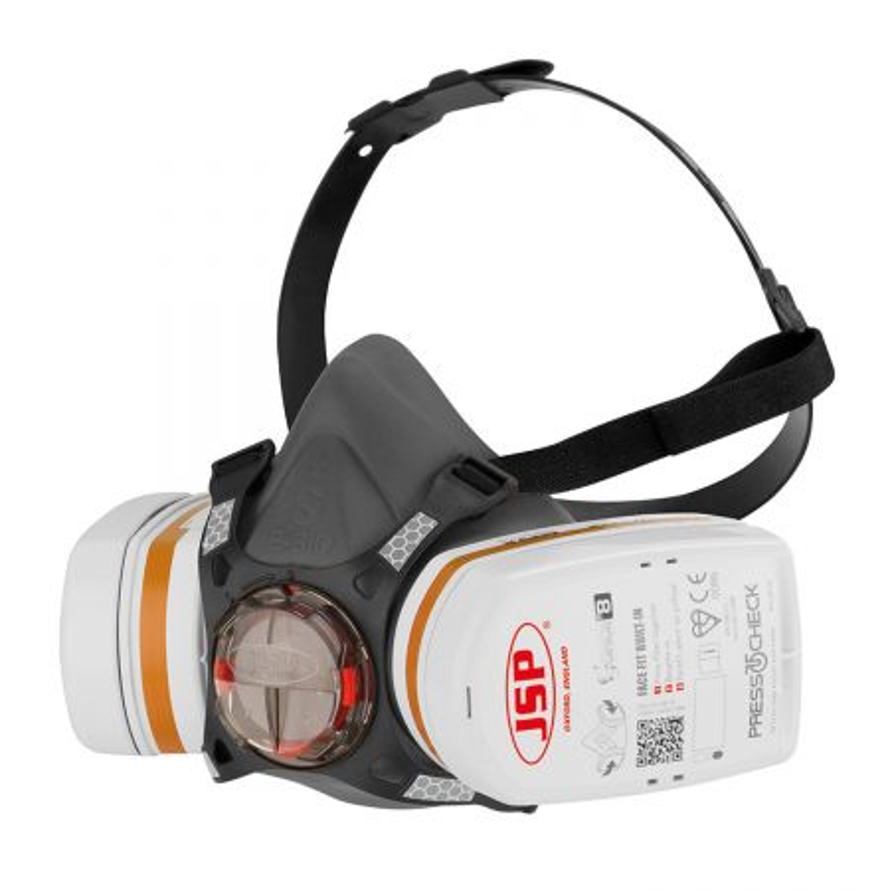 Demi masque respiratoire JSP FORCE 8 + cartouches A2P3 filtres combinés PRESS TO CHECK JSP