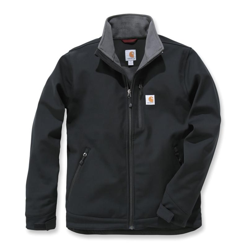 Blouson de travail coupe-vent chaud Carhartt Workwear avec doublure polaire