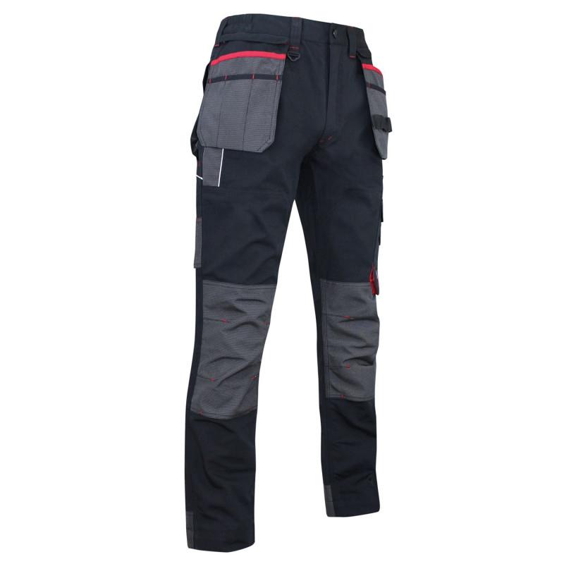 Pantalon de travail résistant, renforcé et multipoches LMA MINERAI
