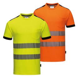 T-Shirt haute visibilité respirant Portwest VISION