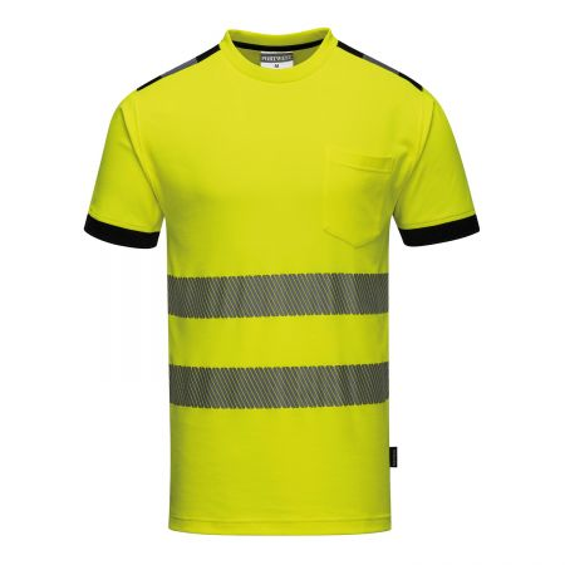 Tee Shirt haute visibilite jaune