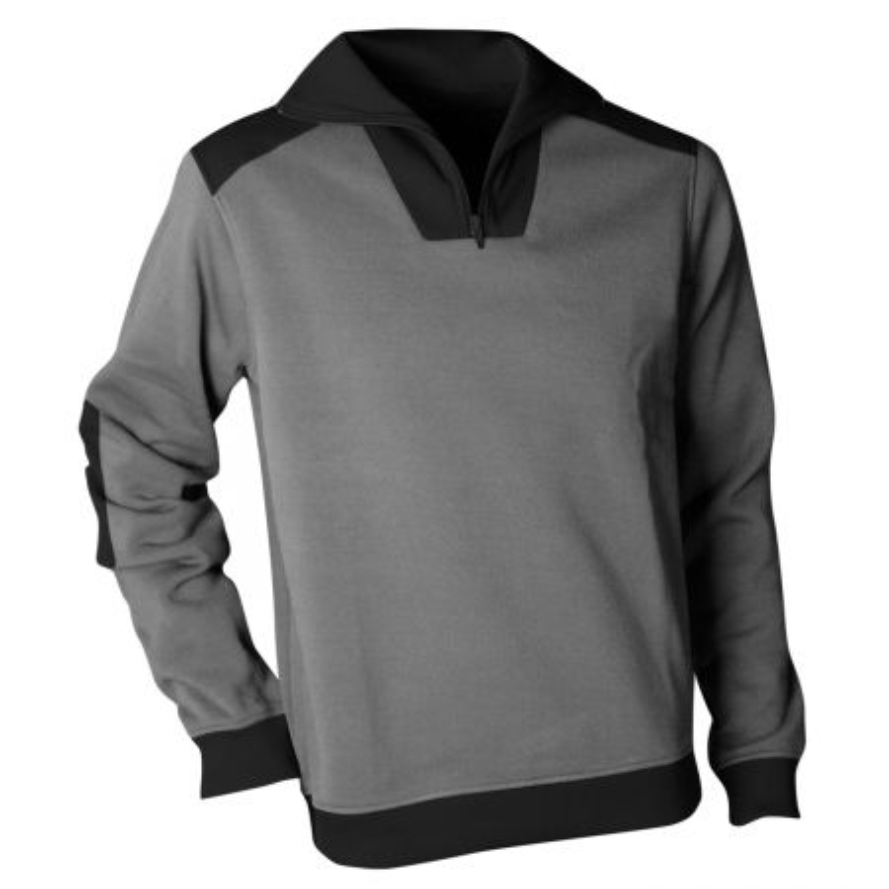 Sweatshirt polaire de travail gris LMA ARIZONA