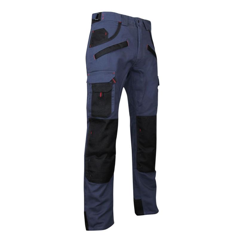 Pantalon travail bleu LMA BRIQUET