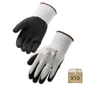 x10 Gants de manutention anticoupure en PEHD