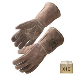 x10 Gants de protection soudeur renforcé