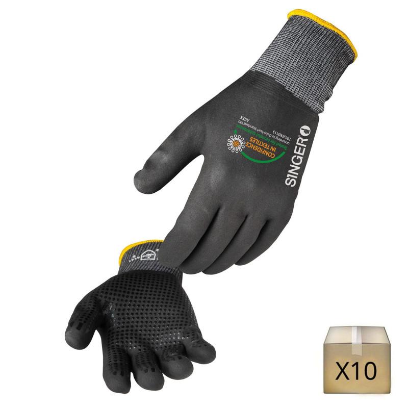 gant mecanicien nitrile pas cher