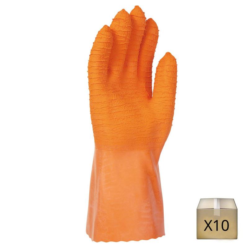 gant latex produit chimique