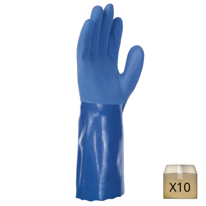 gant pvc résistant