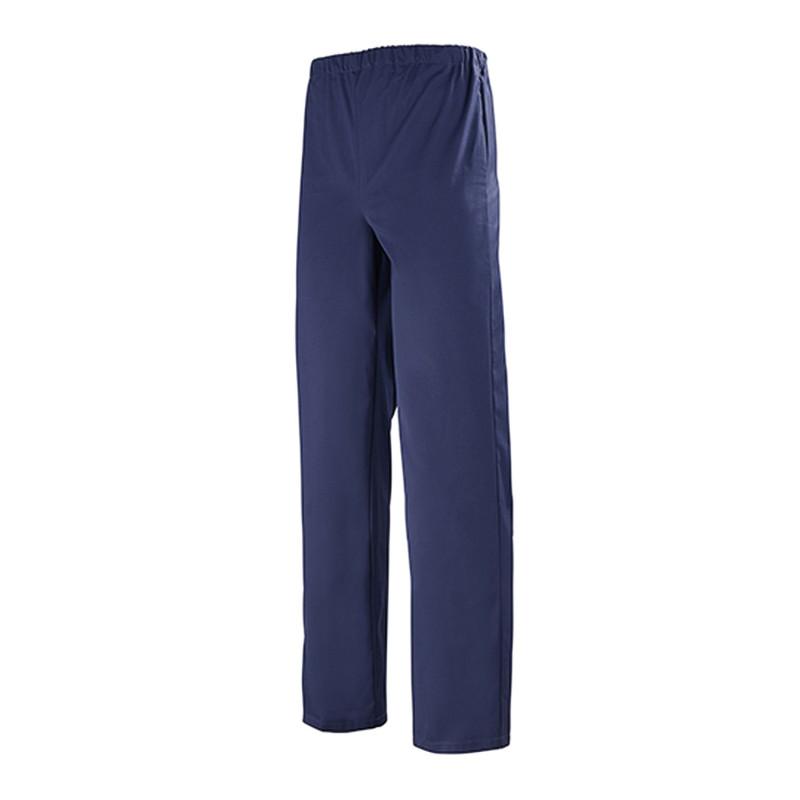 pantalon médical entretien industriel bleu marine clemix
