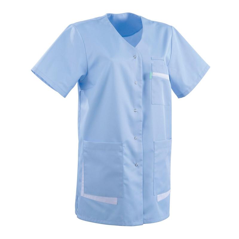 Tunique médicale femme bleu AMANDA Clemix