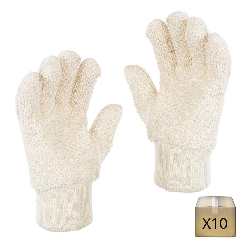 Gant anti chaleur coton