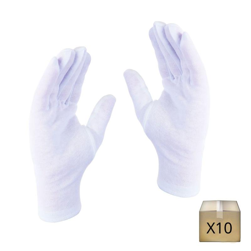 Gant protection coton pas cher