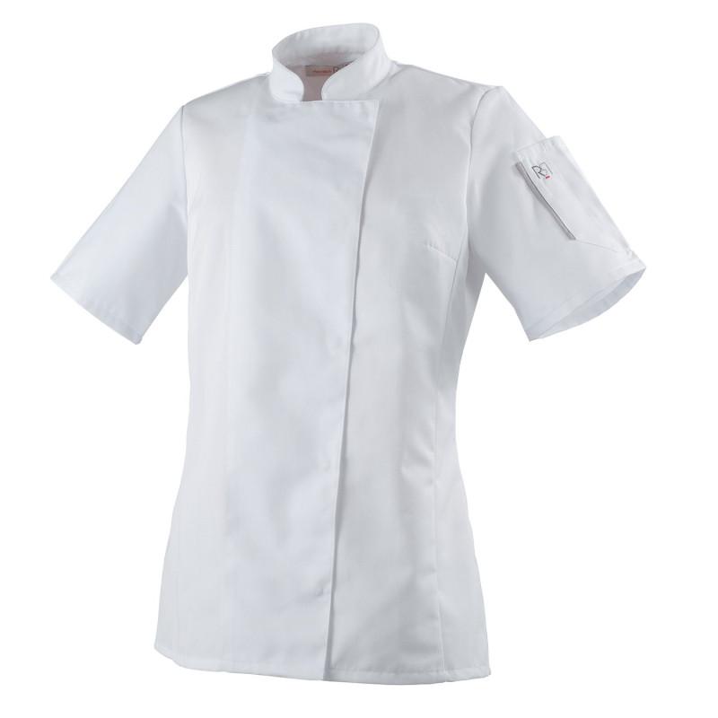 Veste cuisine blanche femme
